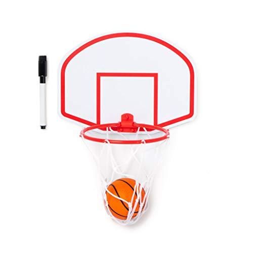 Balvi Basket Magneto Panier et Ardoise avec Balle et marqueur Magnétique 28cm Plastique ABS/Plastique PVC