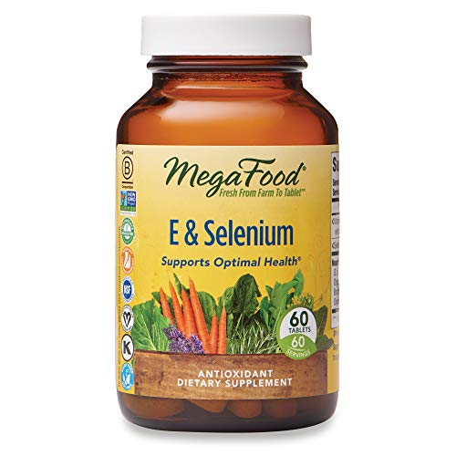 MegaFood - E & Selenium, Provides Potent Antioxidant Protection for Life,...