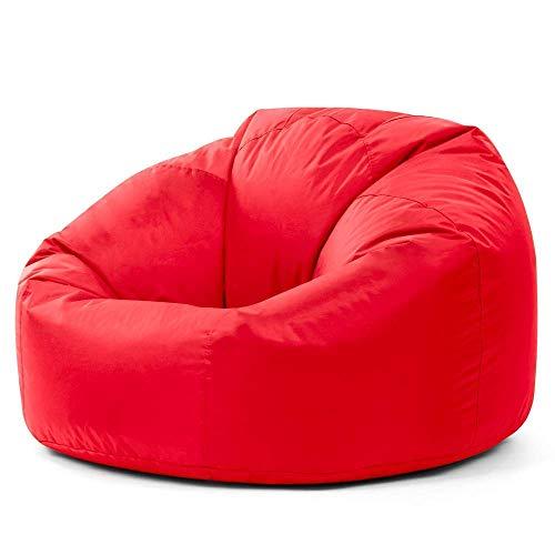 Bean Bag Bazaar Silla Tipo puf clásica, Pufs para Adultos, Pufs para Interior-Exterior