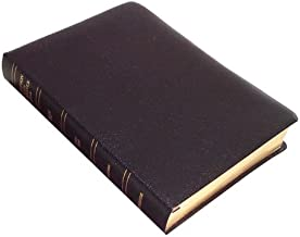 KJV - Black Bonded Leather - Large Print - Thompson Chain Reference Bible (015190)