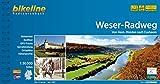 Weser Radweg: Von Hann. Münden nach Cuxhaven, 1:50.000, 522 km, wetterfest/reißfest, GPS Tracks Download, LiveUpdate (Bikeline Radtourenbücher)