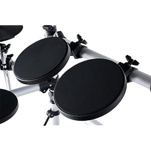 XDrum DD-402 Drum Set batteria elettronica con sgabello e cuffia