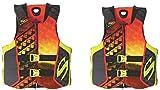 STEARNS Hydroprene Life Vest 2 Pack, 2 Orange, Medium