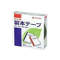 ニチバン 製本テープ 緑 25mm×10m BK-253/51325510