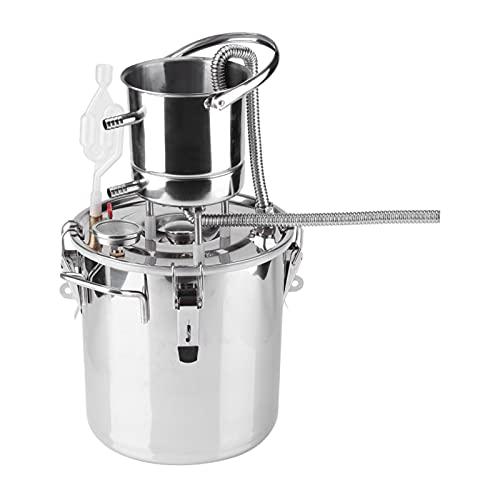 Vbestlife Dispositivo De Elaboración De Vino, Kit De Preparación De Vino, Equipo De Destilación De Agua, Kit De Preparación Casera(10L)