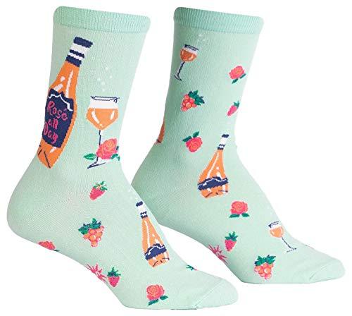 Sock It To Me, Damen Crew, Weinsocken - - Einheitsgröße