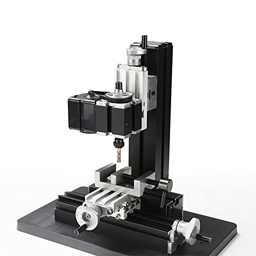 Variable Speed Single Phase Compact Benchtop Milling Machine High Power Metal Mini Lathe DIY Micro Milling Machine 20000 or 12000 rev/min