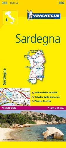 Mapa Local Italia Sardegna (Mapas Local Michelin)