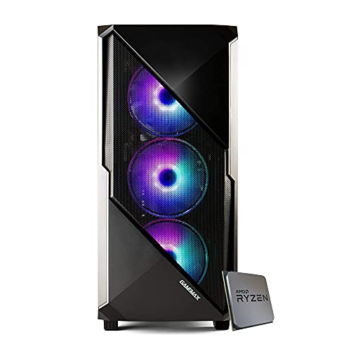 Pc gaming Ryzen 5 4650G 4.20 Ghz Turbo,SSD M.2 NVMe 500 GB,Ram 16Gb 3200Mhz ,600w 80 Plus ,Wi Fi 300Mbps , Computer da Gaming,Windows 10 Professional