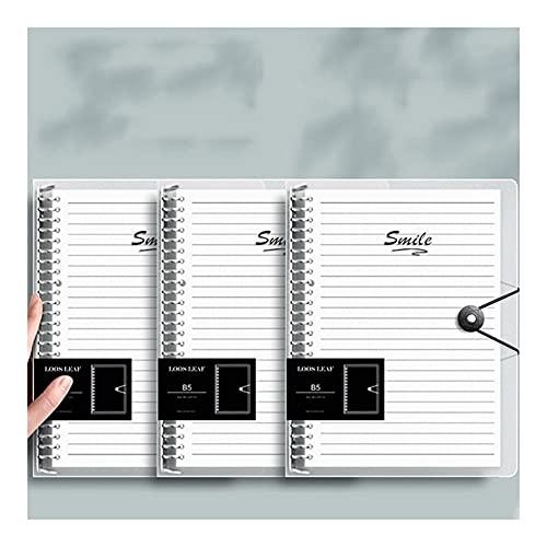 Diario de Cuaderno Cuaderno de Espiral gobernado de la Universidad, A5 3PACKS 8.4x10.8 Revista de Escritura de Viajes alineados Diario, Estudiantes Oficina Negocio Asunto Diario Diario Bloc de Notas