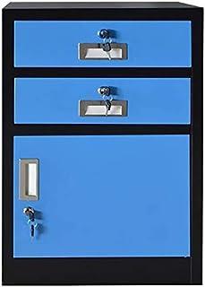 Classeurs WHLONG Étude fichier Armoires de Bureau Armoire de Rangement avec Compartiment Locker métal Verrouillage Design ...