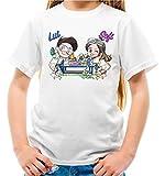 Maglietta Youtuber Lui e Sofi Slime Lab Bambina e Bambino (7-8 Anni)