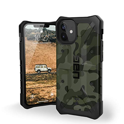 Urban Armor Gear UAG iPhone 12 Mini 5G - (5.4 inch) Rugged Lightweight Slim Shockproof Pathfinder SE Protective Cover, Forest Camo