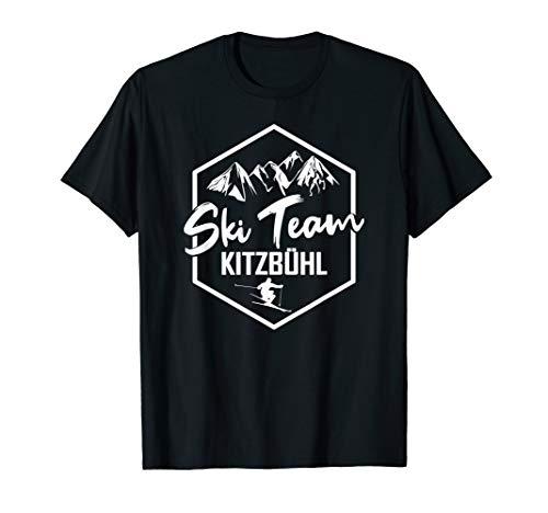 Skiteam Kitzbühl Geschenk, Ski Urlaub - Skifahren -Skifahrer T-Shirt