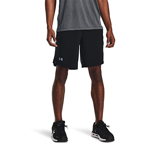 Under Armour Launch Stretch Woven 9'' Shorts Black/Reflective LG 9