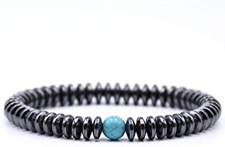 BAOKUANH Bracelet Trendy Men Beaded Bracelet 12 Optional 8Mm Natural Stone Beads With Bracelet Men Jewelry