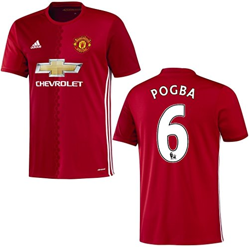 Trikot Adidas Manchester United 2016-2017 Home - Pogba 6 (140)