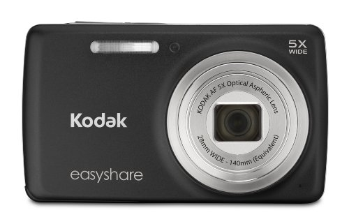 Kodak EasyShare M552 14 MP Digital Camera with 5x Optical Zoom and 2.7-Inch LCD - Black