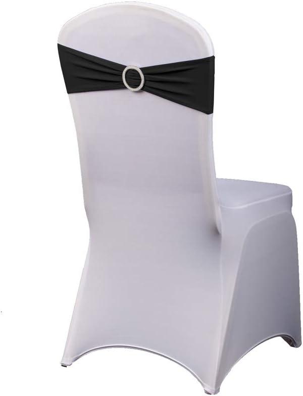 HAORUI-50PCS Stretch Cheap SALE Start National products Chair Bands-Elastic Bows Slip Spandex