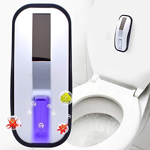 Inodoro UV esterilización luz con sensor de movimiento, cambio de luz, control automático completo, detector LED de inodoro, activado por movimiento, cuenco de inodoro con luz Agrado H4