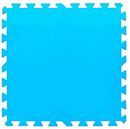 Bestway 14352 Lot de 9 tapis de protection 50 X 50 cm