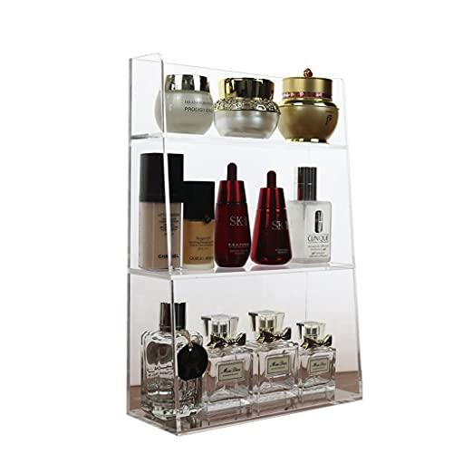 Desktop storage box Caja de Almacenamiento de acrílico para cosméticos, Espejo de baño, Almacenamiento en gabinete, gabinete de...