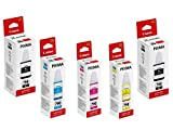 Canon Combo GI 790 Black Twin & C/Y/M Ink Bottles for Pixma G1000