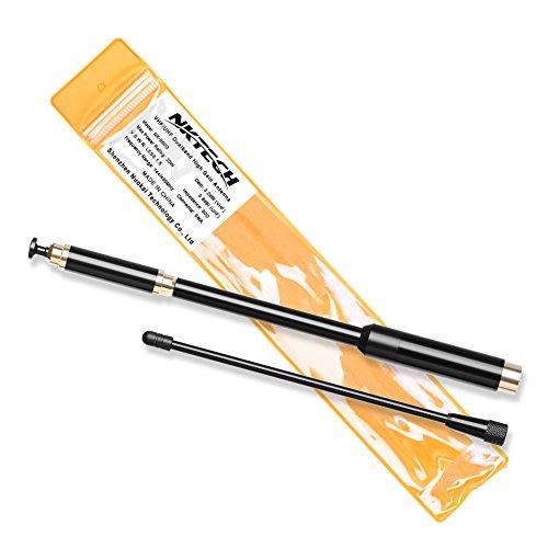 NKTECH Antena de doble banda SMA-macho de alta ganancia para TYT MD-380 MD-390 GPS DM-UVF10 TH-UV8000D TH-UV8000E WOUXUN KG-UV6D PRO KG-UV8D KG-UV899 GD-77 GD-55 PLUS HYT