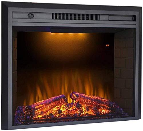 GJJSZ Fuego eléctrico In-Flames Chimenea eléctrica empotrada en la Pared Efectos de...