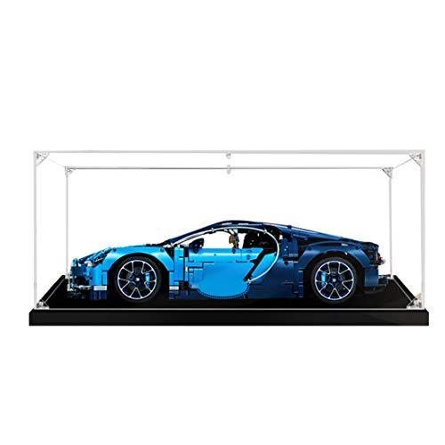 DAN DISCOUNTS Acryl Schaukasten Vitrine Display case Schaukasten Boxen für Lego Technic Bugatti Chiron 42083 (Ohne Lego Modell)
