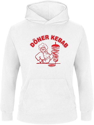EZYshirt® Döner Kebap Kinder Hoodie | Kinder Kapuzenpullover | Kinder Pullover