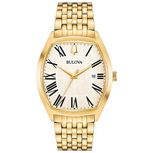 Bulova Men's Analog Display Analog Quartz Gold Watch – $160 (62% Off)