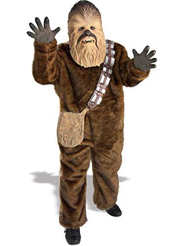 Rubies Déguisement Deluxe Chewbacca - Star Wars - Enfant Taille : 5/7 Ans (108 à 120cm)