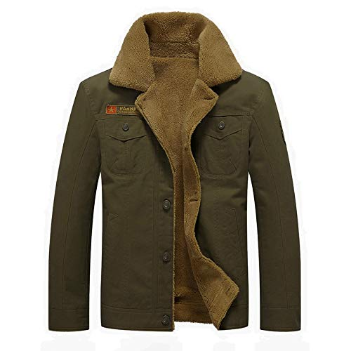 GYXYYF Winter Jacket Mannen Air Force Pilot Jacket Warm Man Dikke Jas Mannen Tactische Fleece Jassen