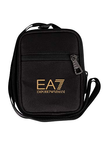 EA7 de los hombres Mini bolsa de bolsa, Negro, One Size
