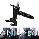 YOOHOO Tablet Car Headrest Mount, Universal 9 inch DVD Player Holder for Car Backseat Seat Mount,360° Rotating Adjustable,for All 7