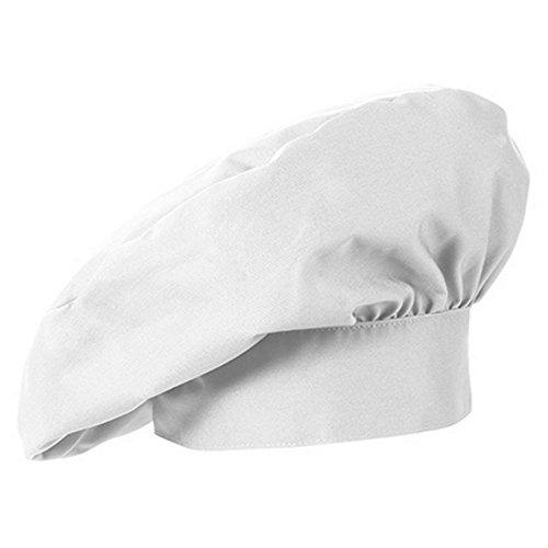 GREIFF Französische Kochmütze GASTRO MODA, 5700, 2er Pack, weiß