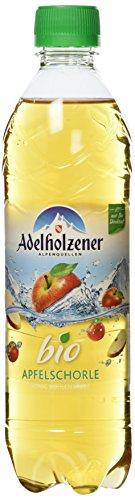 Adelholzener Bio Apfelschorle, 3er Pack, EINWEG (18 x 500 ml)