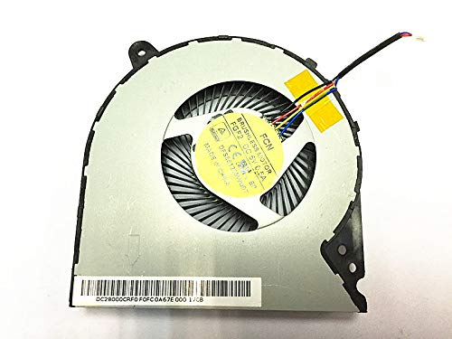 KENAN New Laptop CPU Cooling Fan for Lenovo Y700 Touch-15ISK Y700-15ACZ Y700-15ISK