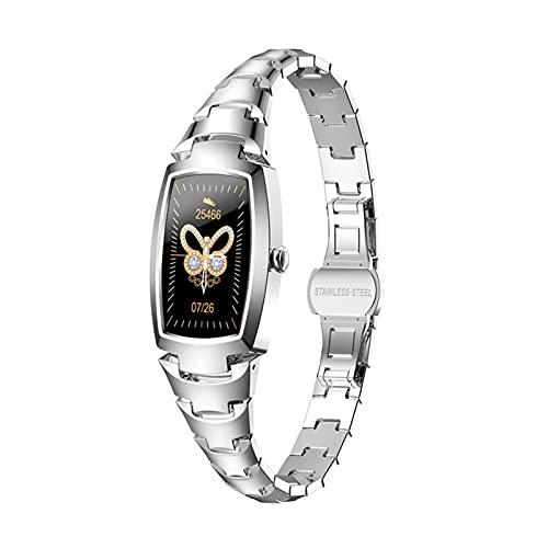 Reloj inteligente para mujer con pantalla de modo multideportivo, pulsera de fitness, reloj inteligente para mujeres y hombres, reloj de fitness con frecuencia cardíaca impermeable IP68