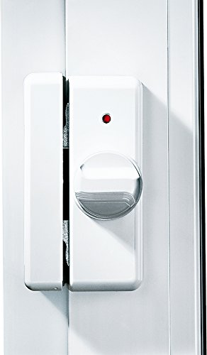 IKON 9M04 Weiss Kralltec Fenstersicherung Mit Drehknauf
