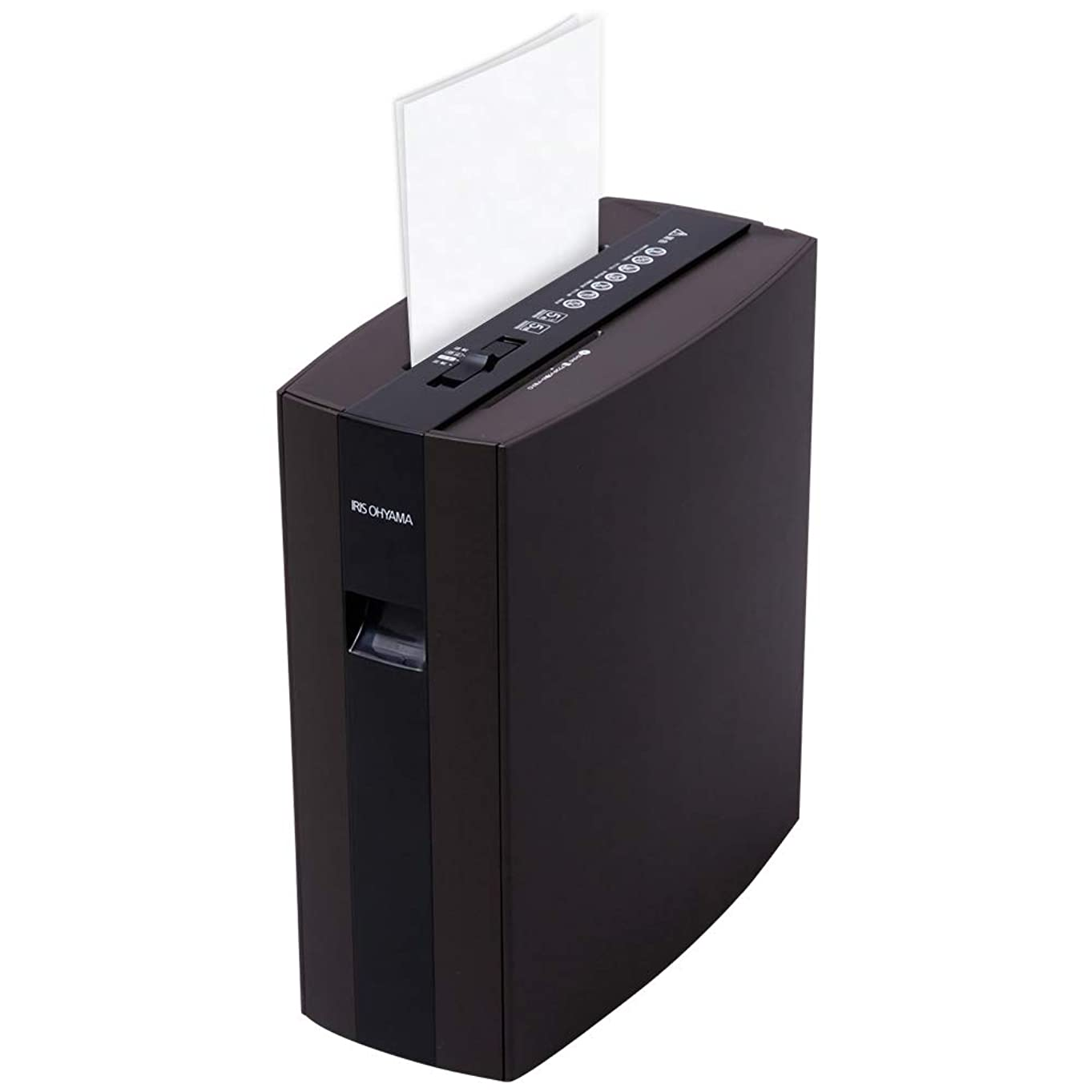 領域国民投票エミュレーションアイリスオーヤマ 細密シュレッダー ブラウン PS5HMSD