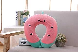 SIZOO - Plush Pillows - Neck Pillow Headrest Soft U Shaped Cushion Air Flight Pillows Car Nursing Cushion Travel Support N...