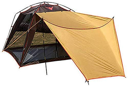 2 Person Thickened Waterproof Tent, Camping Sun Shelter Beach Shade Canopy Waterproof Tarp Tents Supplies Folding Portable Multifunctional Lightweight