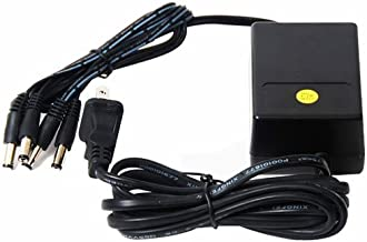 VideoSecu 12V DC CCTV Security Camera Power Supply Adapter with 4 (2.1mm) Channel Connectors Port 1I0