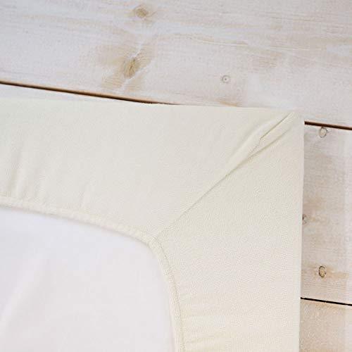 PUPPAPUPO洗えるベビー布団5点セットレギュラーサイズ【スター×ムーン】パイル綿100%新生児用アイボリー