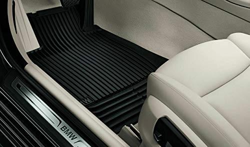 BMW Details zu ORIGINAL Gummimatten Fußmatten Automatten Satz 5er F10 F18 F11 4-TLG Vorne + Hinten