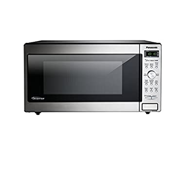 Panasonic NN-SD745S Countertop/Built-In Microwave with Inverter Technology, 1.6  cu. ft. , Stainless