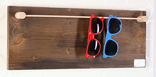 HappyBoard Brillenhalter Brillenständer ANTIK für Lesebrillen & Sonnenbrillen