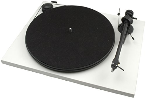 Pro-Ject Essential II - Tocadiscos, blanco